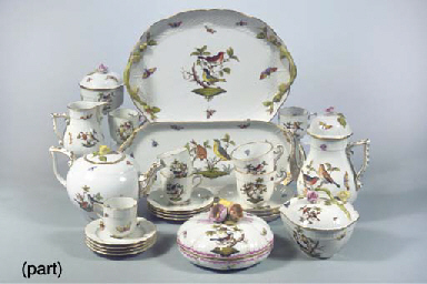 (81) A Herend Hungary porcelai