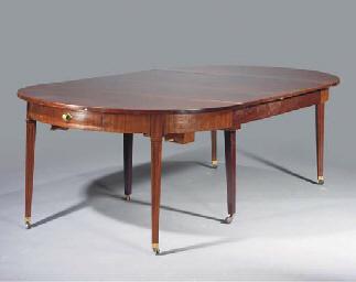 (11) A Dutch mahogany extendin