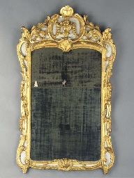 A FRENCH PROVINCIAL GREY PAINT