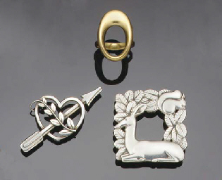 A group of jewellery by Georg