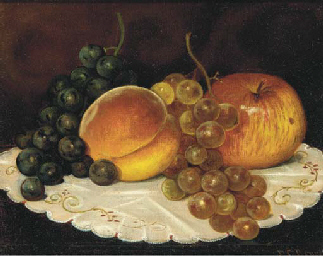 Still life with grapes, an app