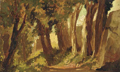 Study of a sunlit wall; also a