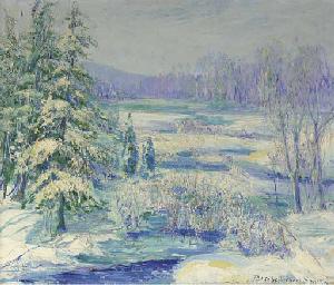 Winter Landscape, Wilton, Conn