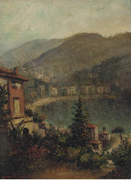 View of an Italian waterfront