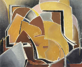 Forms in Brown and Ochre