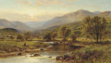 View of Festiniog, North Wales