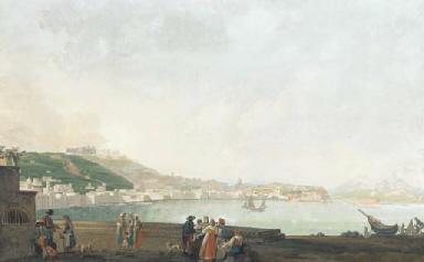 View of the Riviera di Chiai w