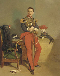Portrait of a Swiss colonel of