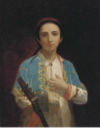 A young Turkish boy