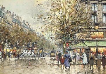 Boulevard des Capucines & Café