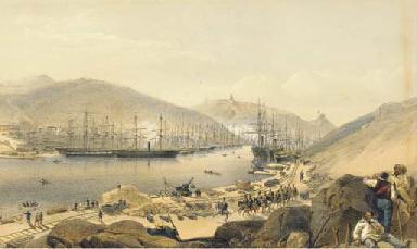 Balaklava Harbour Scene