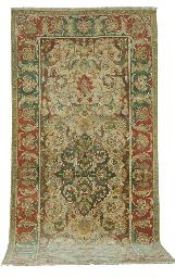 A TURKISH CORRIDOR CARPET,
