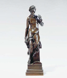 AFTER THE ANTIQUE, TWO BRONZE