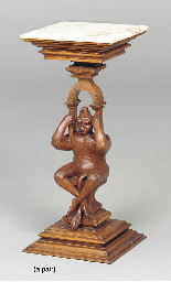 A PAIR OF VICTORIAN FIGURAL CA