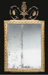 A NEOCLASSICAL STYLE GILTWOOD