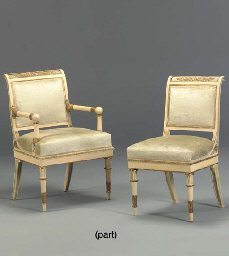 A SET OF FIFTEEN EMPIRE STYLE