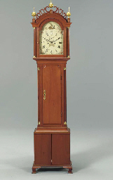 A FEDERAL CHERRYWOOD TALL CASE