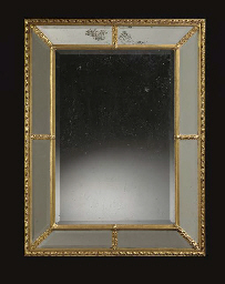 A REGENCE STYLE GILTWOOD WALL