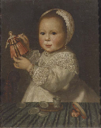 Portrait of a child, wearing a