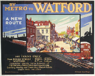 BY 'METRO' TO WATFORD