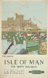 ISLE OF MAN, PEEL CASTLE