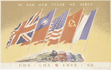 IN WAR AND PEACE WE SERVE