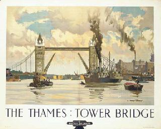 THE THAMES: TOWER BRIDGE