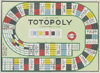 TOTOPOLY, THE GREAT RACE GAME