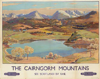 THE CAIRNGORM MOUNTAINS