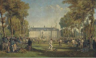 A ball game at Givenchy