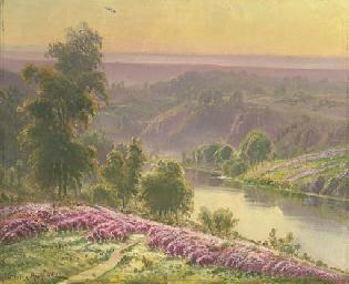 Crozant paysage
