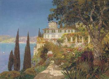A villa on the Amalfi coast
