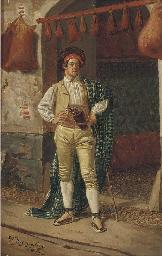 A wineskin maker
