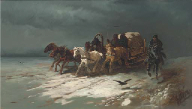 A troika ride