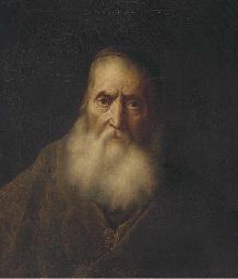 Portrait of a rabbi, bust-leng