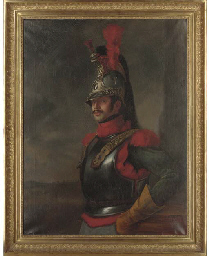 A French guardsman in traditio