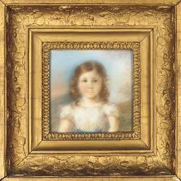 Portrait d'une jeune fille à m