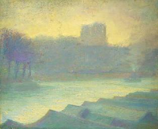 La Seine et Notre Dame dans le