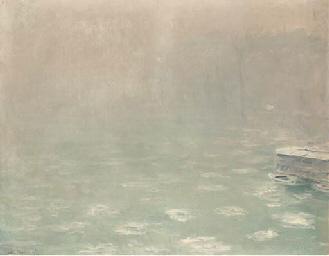 Brouillard sur l'eau