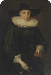 Portrait of Miss Eddowes, thre
