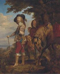 Portrait of King Charles I, fu