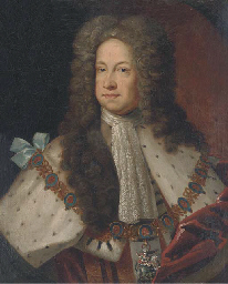 Portrait of King George I (166