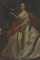 Portrait of Mary, wife of Edwa