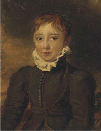 Portrait of a boy, traditional