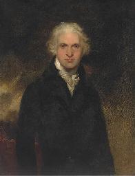 Portrait of a gentleman, thoug