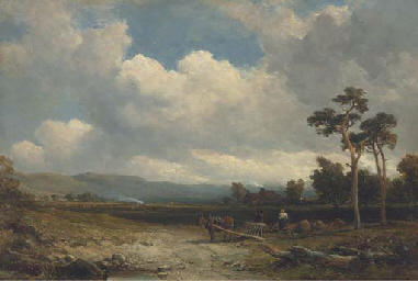 Tilling the land, early Autumn