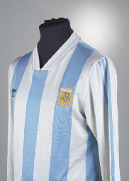 A BLUE AND WHITE ARGENTINA INT