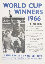 A 1966 WORLD CUP ADVERTISING P