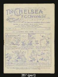 SIX CHELSEA HOME MATCH PROGRAM