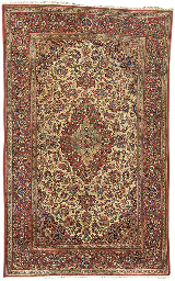 A pair of fine Kashan rugs, Ce